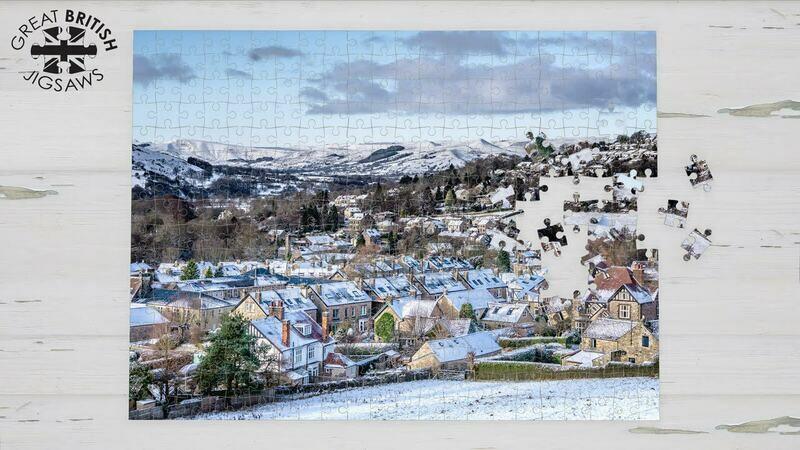 Snowy Peak District Jigsaw