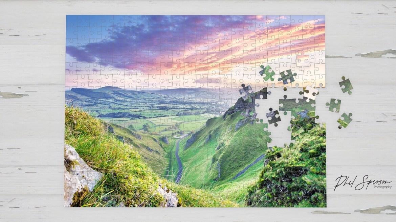 Winnats Pass 500 Piece Jigsaw