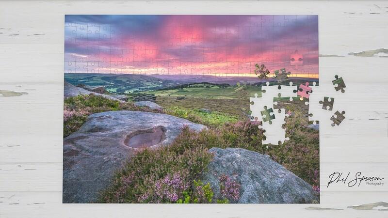 Hope Valley Sunset 1000 Piece Jigsaw