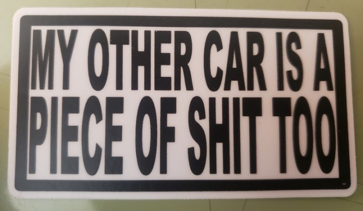 The POS car...