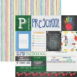 Pre School Double Sided Cardstock