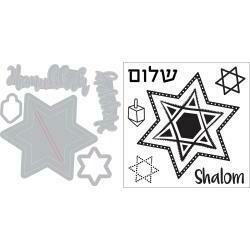 Hanukkah Stamp & Die