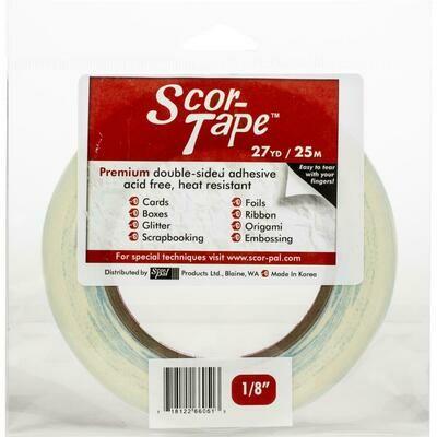 1/8 inch Scor- Tape