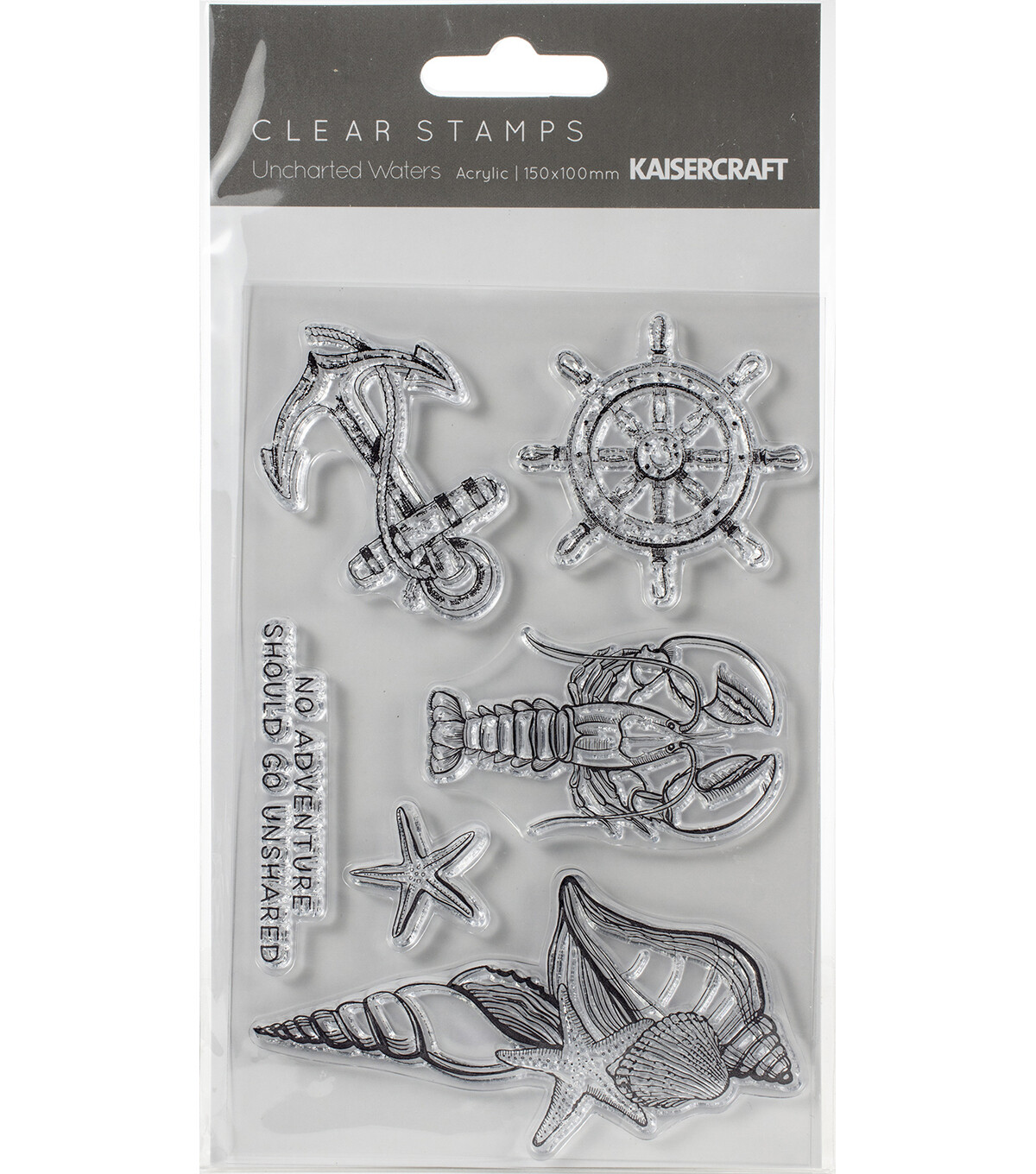 Uncharted Waters clear stamps