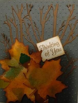 Thinking of You Autumn Card Kit