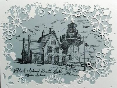 Block Island Winter Card Kit