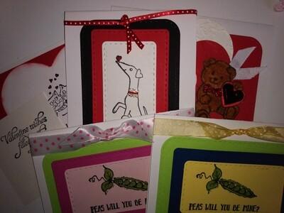 Valentine Card Kit
