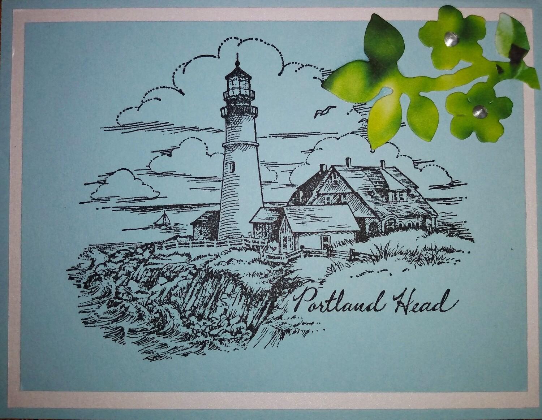 Maine Lighthouse Card Kit