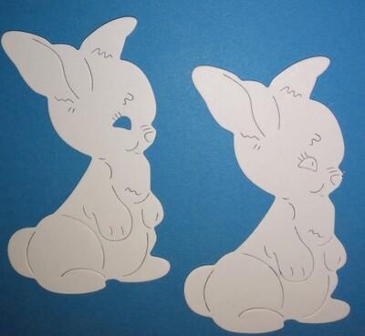 Bunny Die Cuts