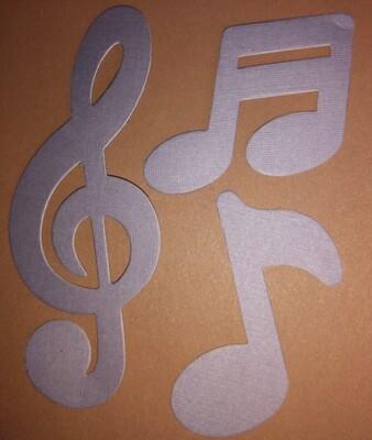 Music Die Cuts