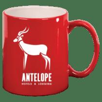 11oz Round Ceramic Mug