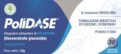 POLIDASE Polidatina (Resveratrolo Glucoside) 30 cpr orosolubili
