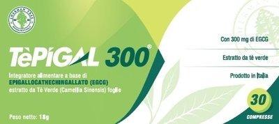 TEPIGAL 300 Tè verde Egcg 30 Cpr