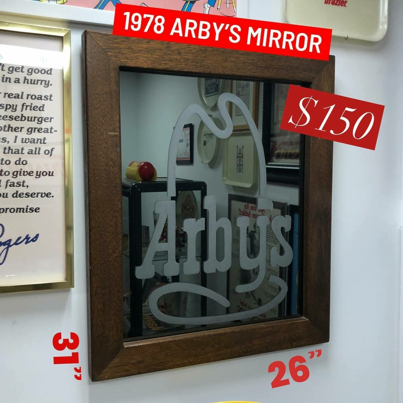 Arby's Mirror from 1978