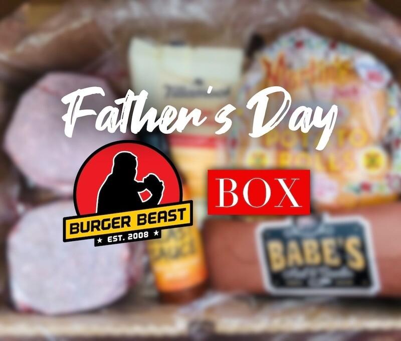 父亲节汉堡野兽盒