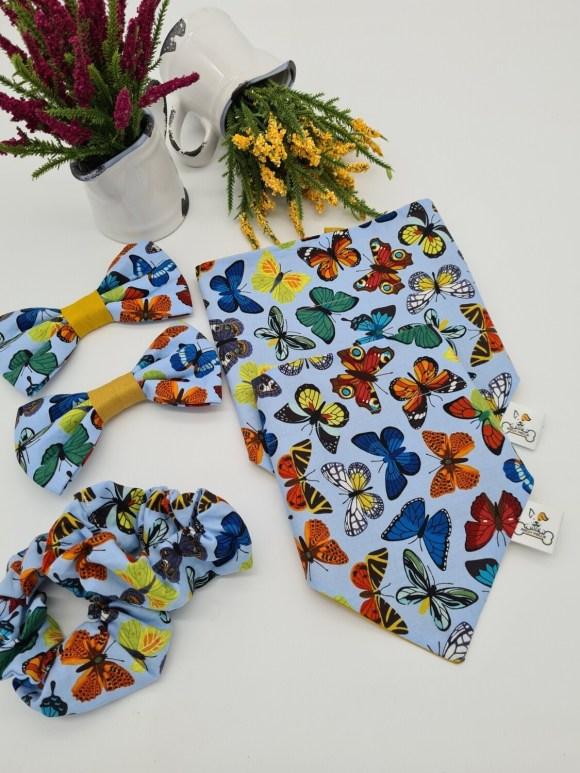 Butterflies Bow Tie