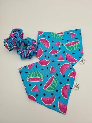 Watermelon Scrunchie