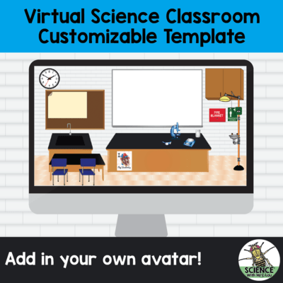 Virtual Science Lab Classroom on Google Slides