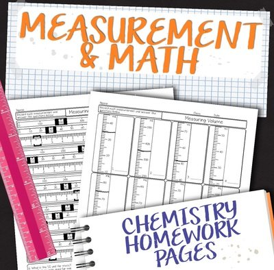 Chemistry Unit 1: Matter and Measurement Homework Pages