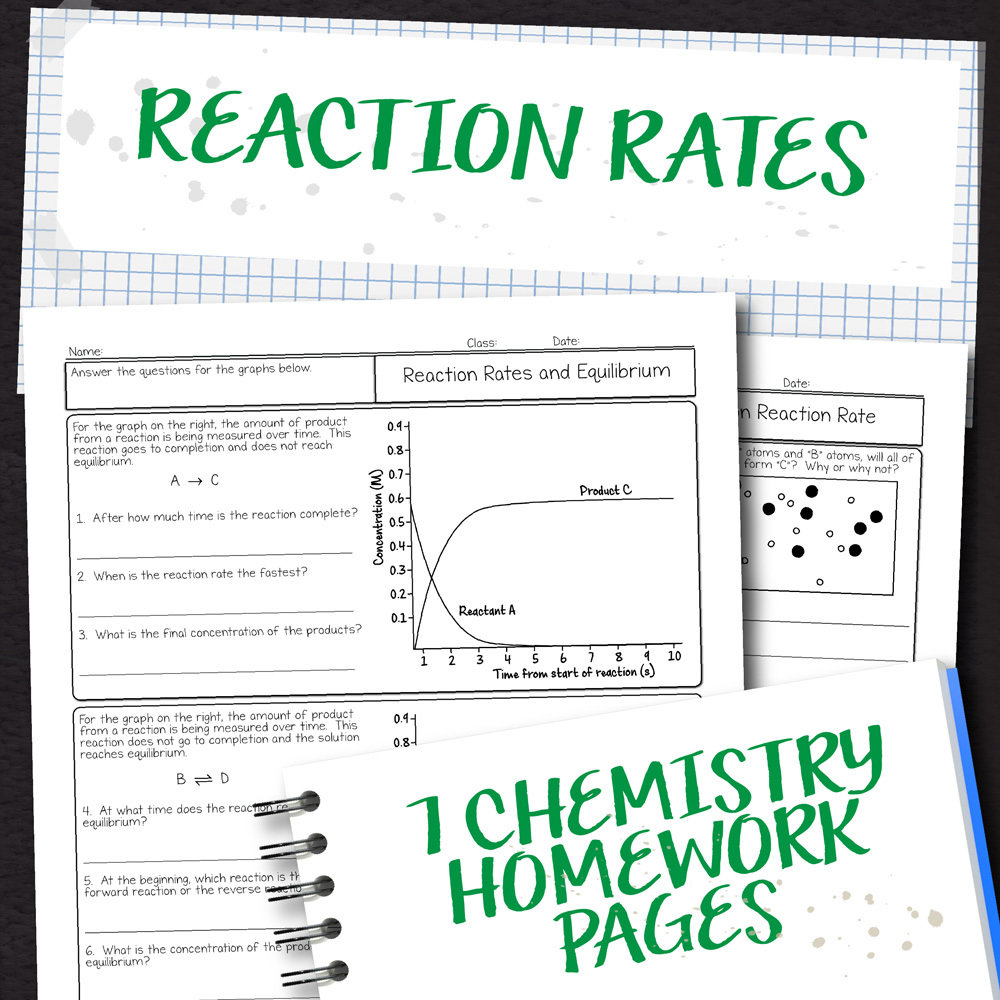 hight resolution of Chemistry Unit 14: Reaction Rates Homework Pages
