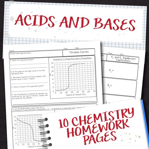small resolution of Chemistry Unit 15: Acids and Bases Homework Pages   Store - Science and  Math with Mrs. Lau