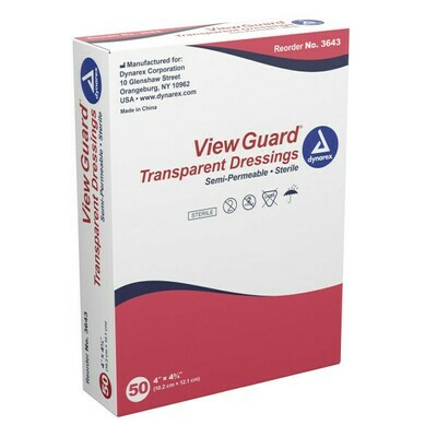 View Guard / Apósitos transparentes estériles 6