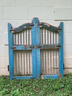 Vintage Gates, Vintage Wall Decor, Iron Gates