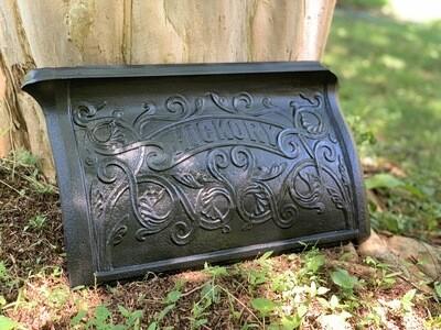 Antique Cast Iron Stove Part, Industrial Decor