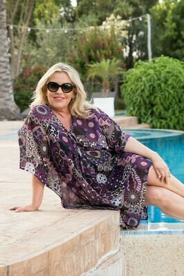 Kasbah Carrie - V-Neck Cover Up