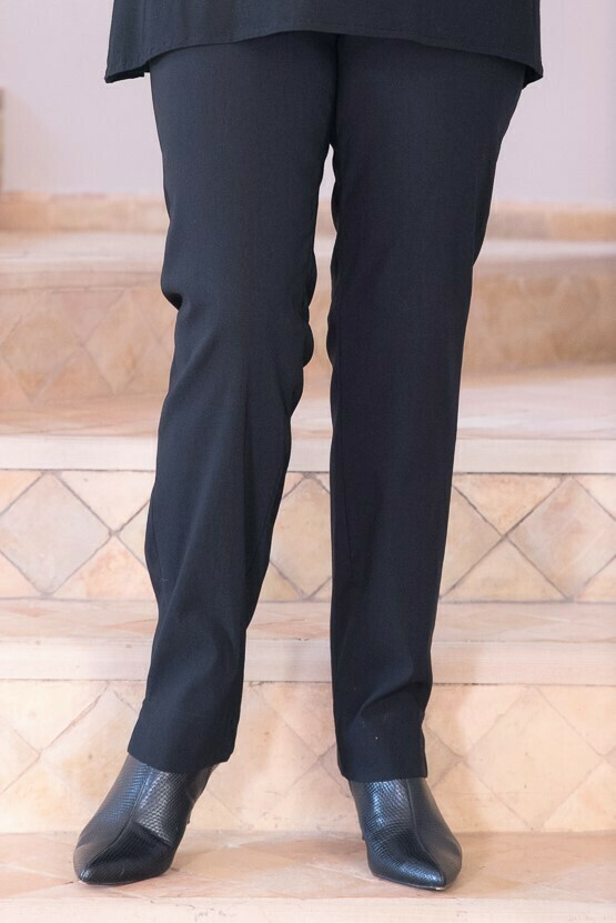 Robell Marie Trousers Black