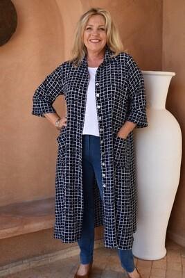 KASBAH Renee - Long 3/4 sleeve Shirt-Jacket