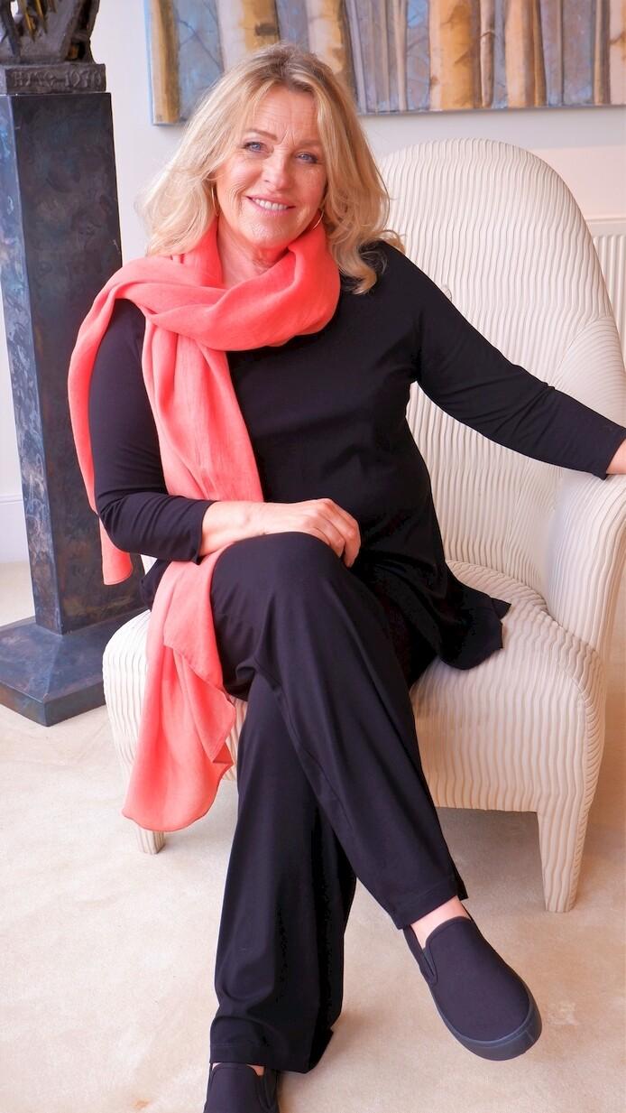 Kasbah Paige - Black Jersey Trousers