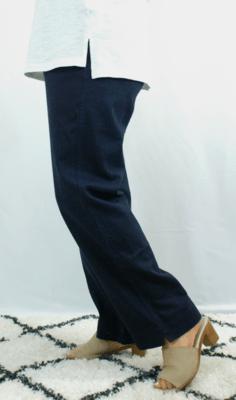 Kasbah Paula - Linen Trouser - Navy