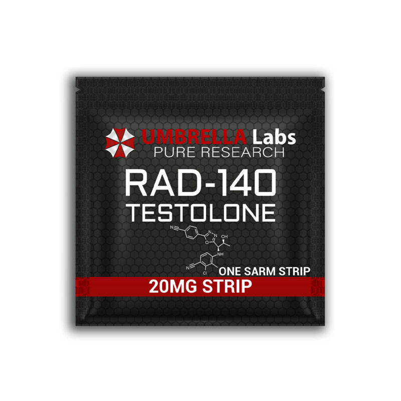 RAD 140 TESTOLONE SARM STRIPS - 20MG/STRIP