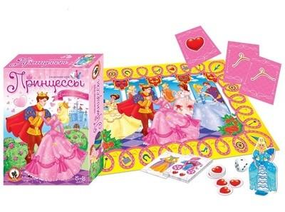 Настольная игра Принцессы Русский стиль 03035