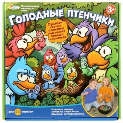 Игра настольная Голодные птенчики Играем вместе AS50083-R