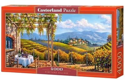 Пазл Castorland Виноградник 4000 деталей C-400249