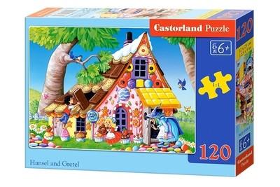 Пазл Castorland Гензель и Гретель 120 деталей B-13333