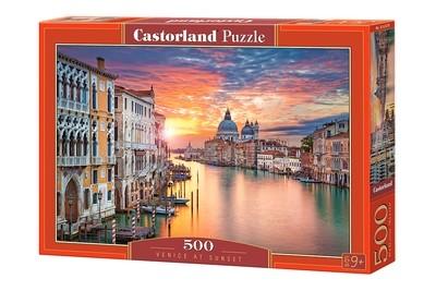Пазл Castorland Венеция на закате 500 деталей B-52479