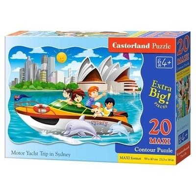 Пазл Castorland Maxi Яхта в Сиднее 20 деталей C-02375