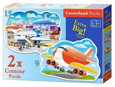 Пазл Castorland Аэропорт 2-в-1 B-020072