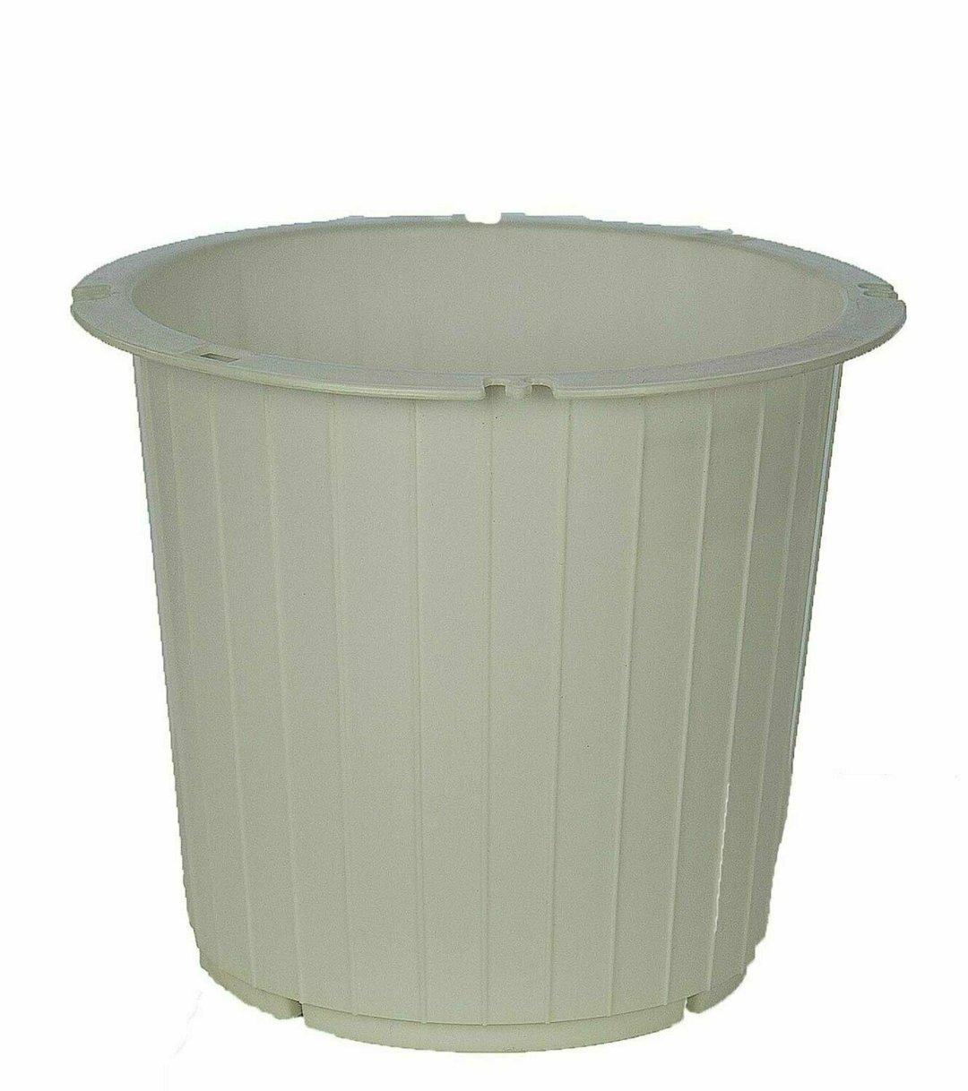 PL8014WT - White Utility Pot With 7.25