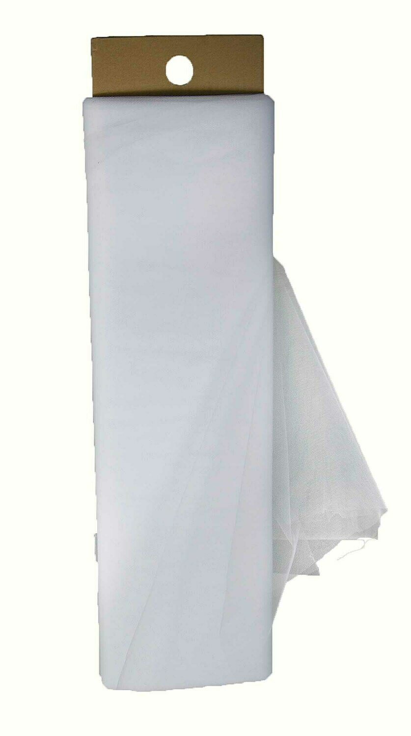 ​1366WT -54 x 40 yards Ivory Tulle Roll $16.95 each Minimum: 1 pc Case Pack: 12 pcs