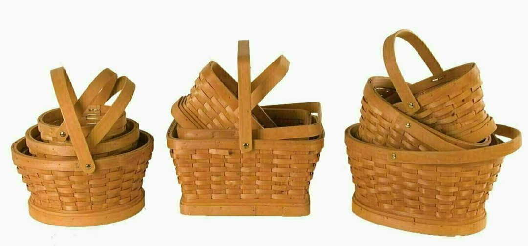 MS1527  - S/3 Woodchip 3 Assorted Shapes 6