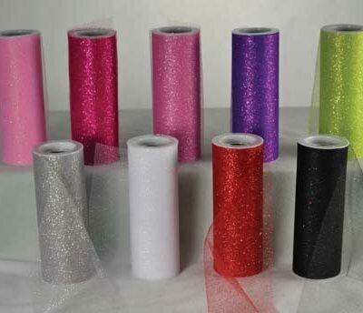 6663  Sparkle Tulle 20 per each 6 x 10 yards $2.95 each Minimum Order: 1 pc Case Pack: 12 pcs