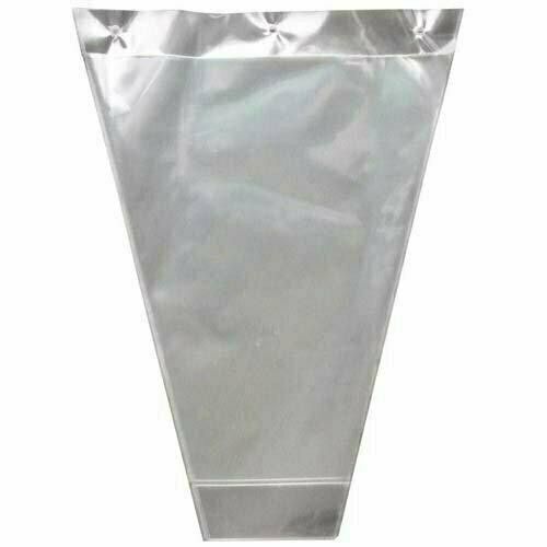 FS5000CLR - Clear poly Floral Sleeve 22.5