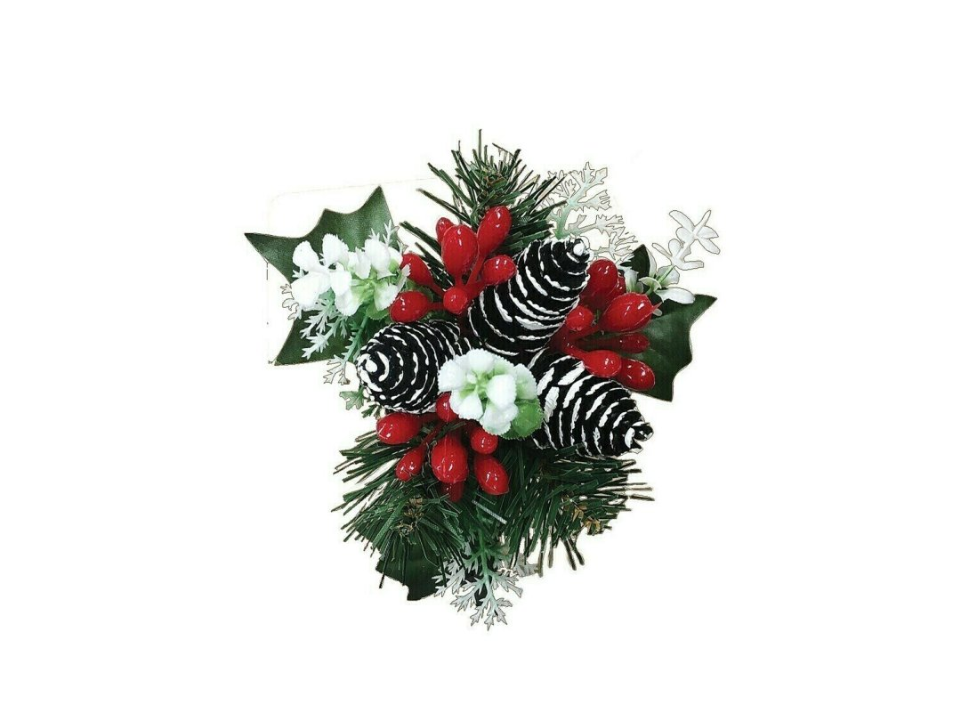 XP5536 - Large Mix Pick with 3 pointed pine cones