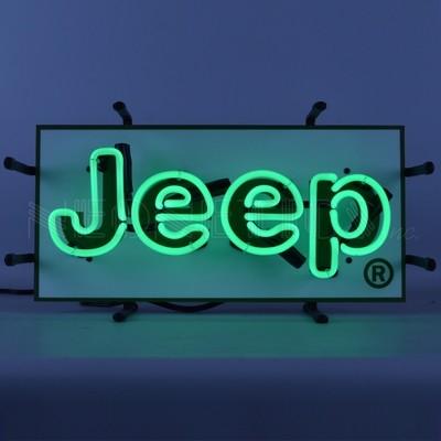 Jeep Junior Neon Sign