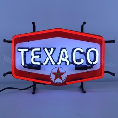 Texaco Gasoline Junior Neon Sign