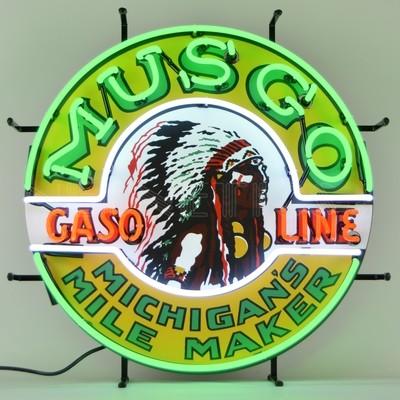 Musgo Gasoline Neon Sign